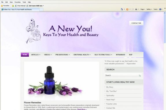 A New You - Keys to your Health and Beauty